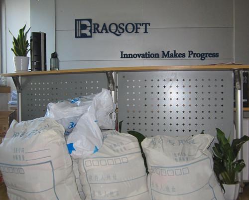 Raqsoft Donates Supplies to the Needy