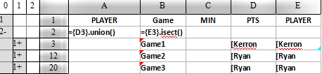 esCalc set calculation 5