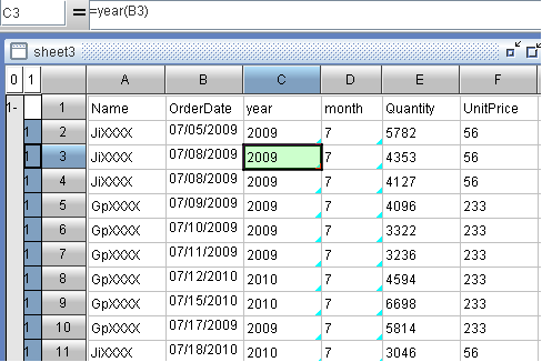 copy and overwrite with self-service BI